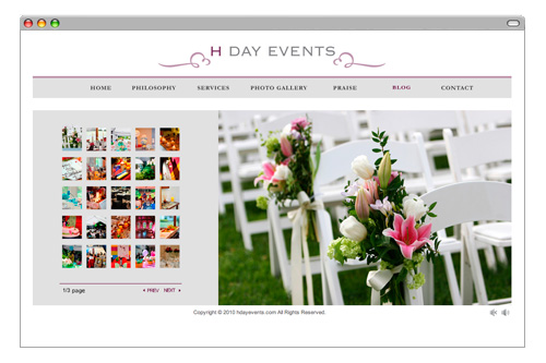 Web - HDAY EVENTS